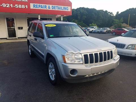 2006 Jeep Grand Cherokee for sale at Sandy Lane Auto Sales and Repair in Warwick RI