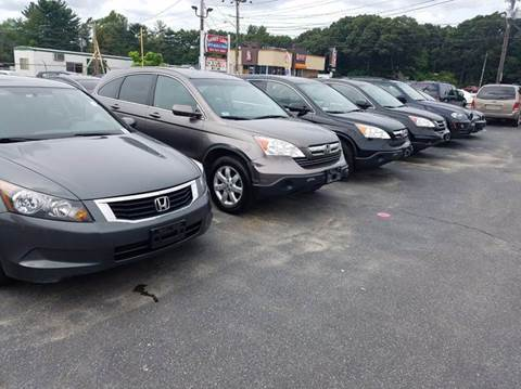 2008 Honda Accord for sale at Sandy Lane Auto Sales and Repair in Warwick RI