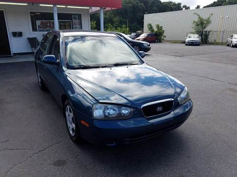 2002 Hyundai Elantra for sale at Sandy Lane Auto Sales and Repair in Warwick RI