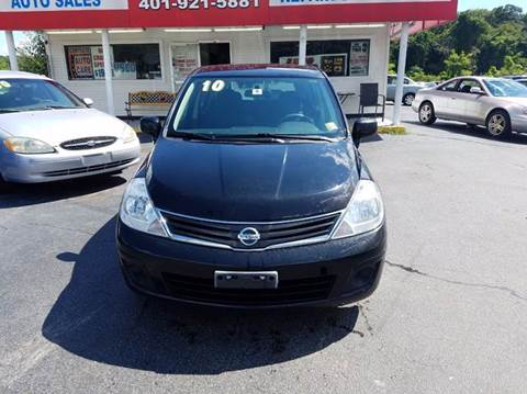 2010 Nissan Versa for sale at Sandy Lane Auto Sales and Repair in Warwick RI