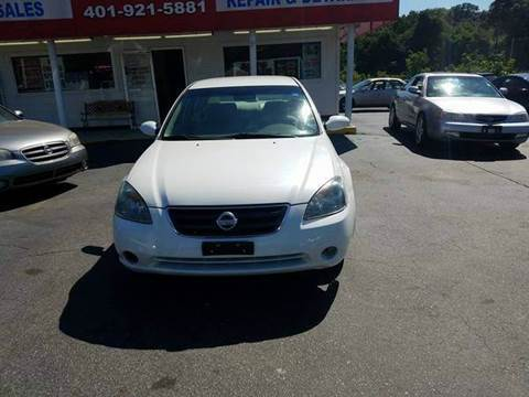 2002 Nissan Altima for sale at Sandy Lane Auto Sales and Repair in Warwick RI