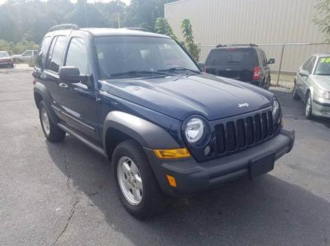 2006 Jeep Liberty for sale at Sandy Lane Auto Sales and Repair in Warwick RI