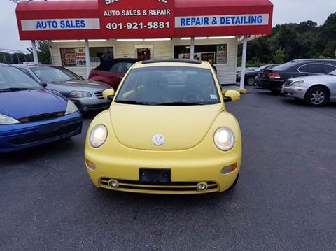2005 Volkswagen New Beetle for sale at Sandy Lane Auto Sales and Repair in Warwick RI