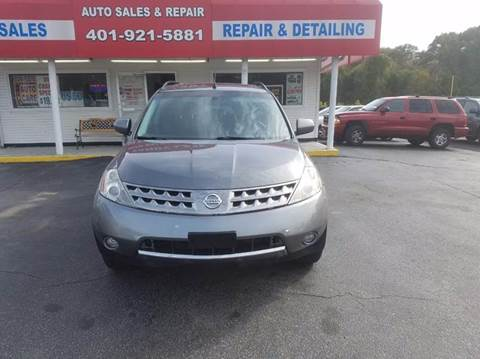 2007 Nissan Murano for sale at Sandy Lane Auto Sales and Repair in Warwick RI