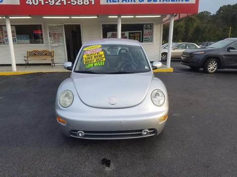 2002 Volkswagen New Beetle for sale at Sandy Lane Auto Sales and Repair in Warwick RI