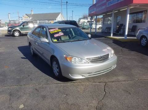 2004 Toyota Camry for sale at Sandy Lane Auto Sales and Repair in Warwick RI