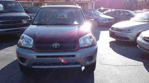 2004 Toyota RAV4 for sale at Sandy Lane Auto Sales and Repair in Warwick RI