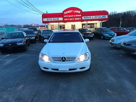 2001 Mercedes-Benz S-Class for sale at Sandy Lane Auto Sales and Repair in Warwick RI