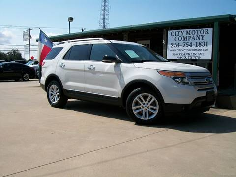 Used Cars Waco Tx >> 2012 Ford Explorer For Sale In Waco Tx