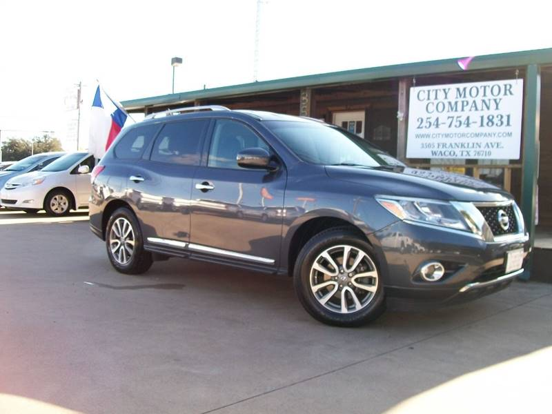 2014 Nissan Pathfinder for sale at CITY MOTOR COMPANY in Waco TX
