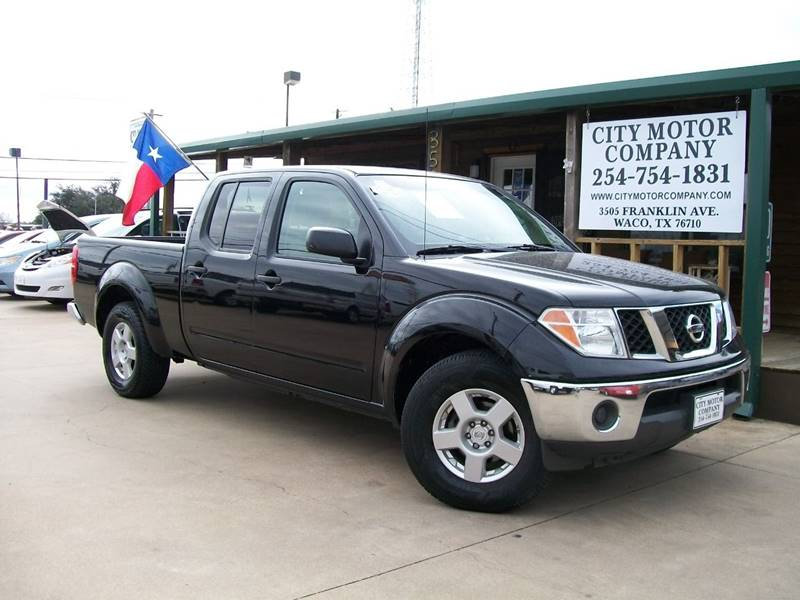 2008 Nissan Frontier for sale at CITY MOTOR COMPANY in Waco TX