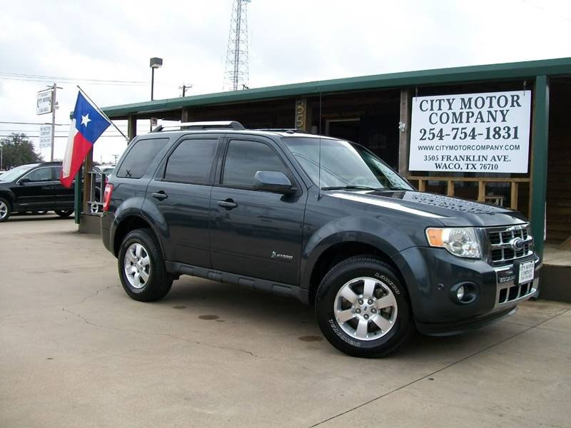 2010 Ford Escape Hybrid for sale at CITY MOTOR COMPANY in Waco TX