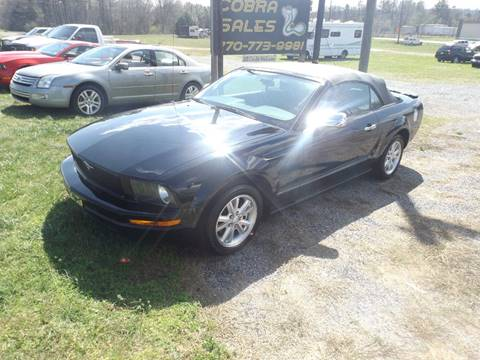 2006 Ford Mustang for sale in Adairsville, GA