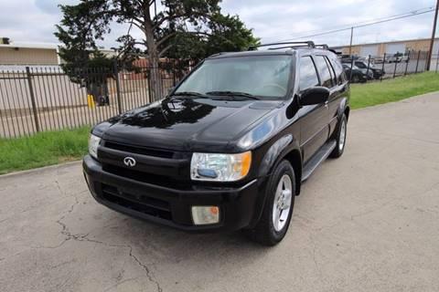 2001 Infiniti QX4 for sale in Dallas, TX