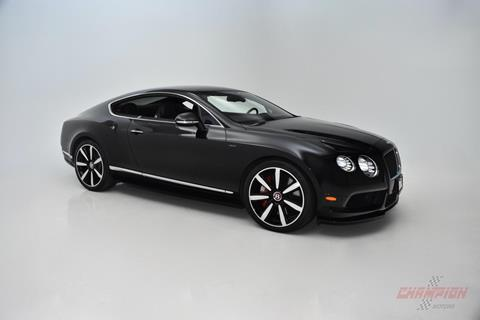 2015 Bentley Continental for sale in Syosset, NY