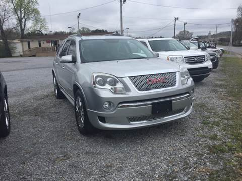 2011 GMC Acadia for sale at Wholesale Auto Inc in Athens TN
