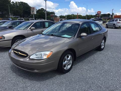 2002 Ford Taurus for sale at Wholesale Auto Inc in Athens TN