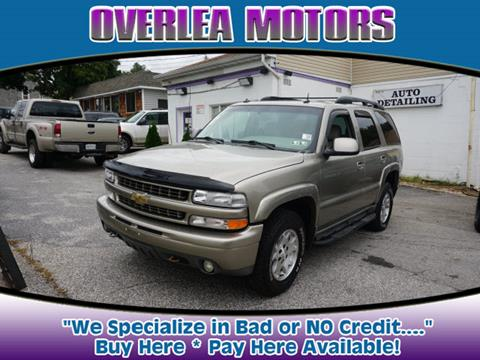 2003 Chevrolet Tahoe for sale in Baltimore, MD