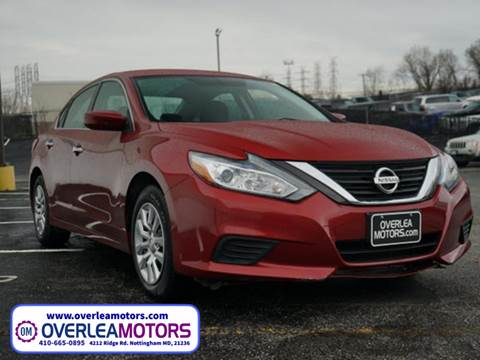 2016 Nissan Altima for sale in Baltimore, MD