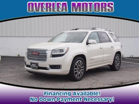 2014 GMC Acadia for sale in Nottingham, MD