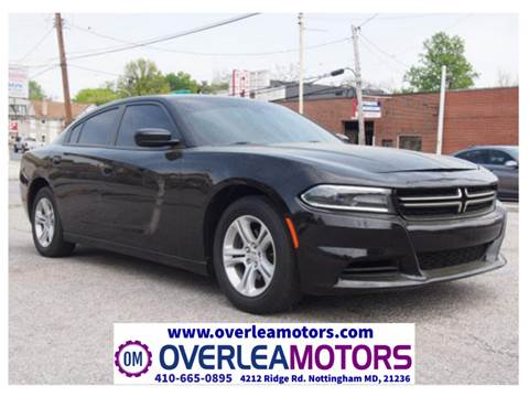 2015 Dodge Charger for sale in Baltimore, MD