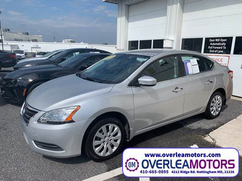 2015 Nissan Sentra for sale in Baltimore, MD