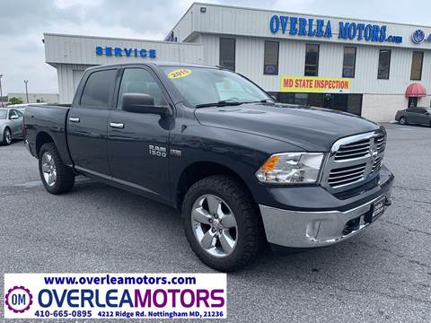 2015 RAM Ram Pickup 1500 for sale in Baltimore, MD