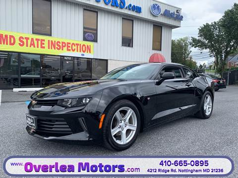 2017 Chevrolet Camaro for sale in Baltimore, MD
