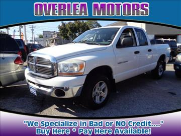 2006 Dodge Ram Pickup 1500 for sale in Baltimore, MD