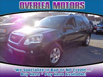 2012 GMC Acadia for sale in Baltimore, MD