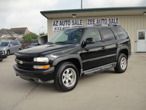 2005 Chevrolet Tahoe for sale in Houston, TX