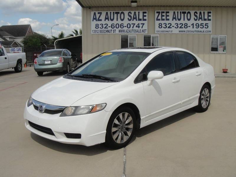 2011 Honda Civic Ex L In Houston Tx Az Auto Sale