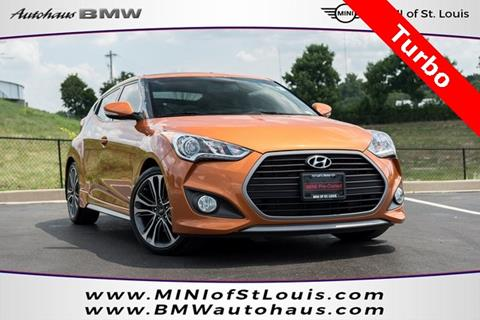 2016 Hyundai Veloster Turbo for sale in Saint Louis, MO