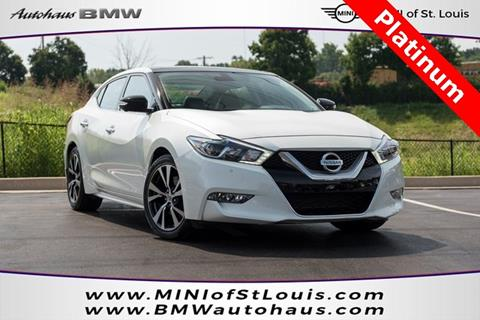 2016 Nissan Maxima for sale in Saint Louis, MO