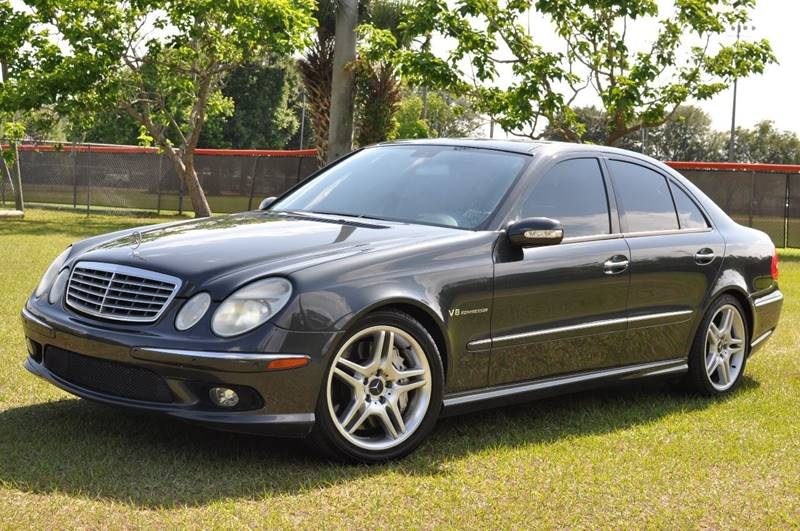 2004 Mercedes-Benz E-Class for sale at Precision Auto Source in Jacksonville FL