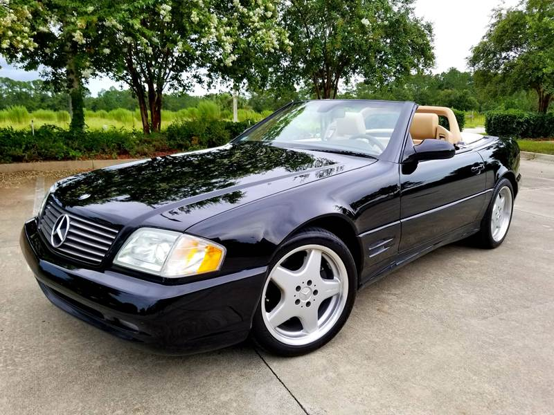 2002 Mercedes-Benz SL-Class for sale at Precision Auto Source in Jacksonville FL