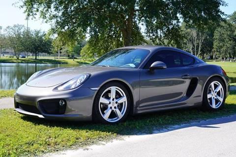 2015 Porsche Cayman for sale in Jacksonville, FL