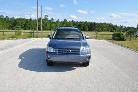 2005 Toyota Highlander for sale at Precision Auto Source in Jacksonville FL