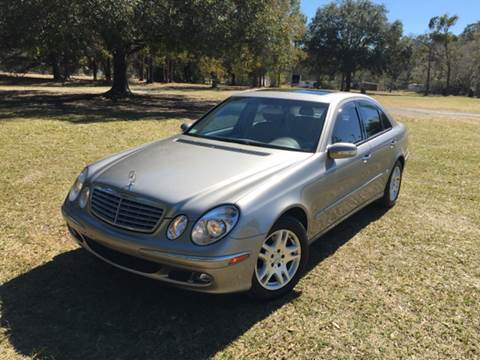 2004 Mercedes-Benz E-Class for sale at Precision Auto Source in Jacksonville FL