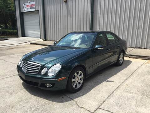 2009 Mercedes-Benz E-Class for sale at Precision Auto Source in Jacksonville FL