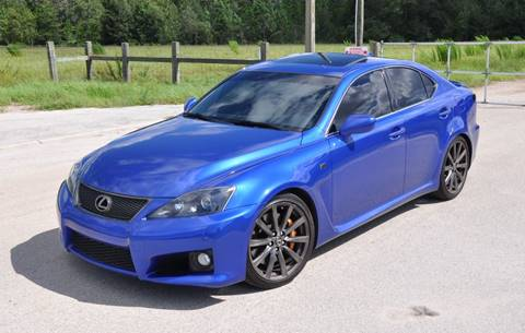 2008 Lexus IS F for sale at Precision Auto Source in Jacksonville FL