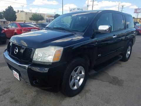 2007 Nissan Armada for sale in El Paso, TX