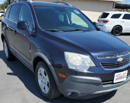 2014 Chevrolet Captiva Sport for sale at Best Deal Auto Group, INC - Lot C-6498 in El Paso TX