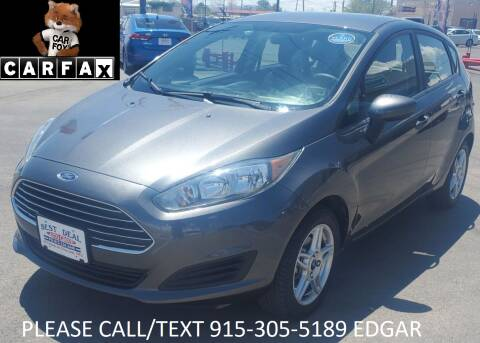 2019 Ford Fiesta for sale at Best Deal Auto Group, INC - Lot  A-6915 in El Paso TX