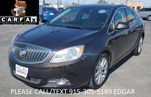 2016 Buick Verano for sale at Best Deal Auto Group, INC - Lot  A-6915 in El Paso TX