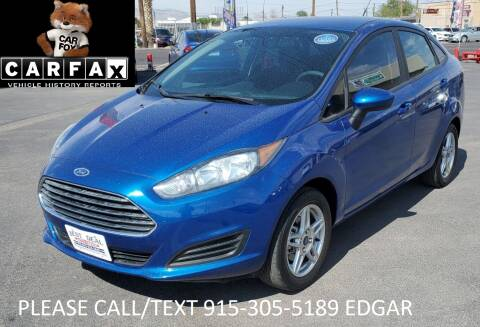 2018 Ford Fiesta for sale at Best Deal Auto Group, INC - Lot  A-6915 in El Paso TX
