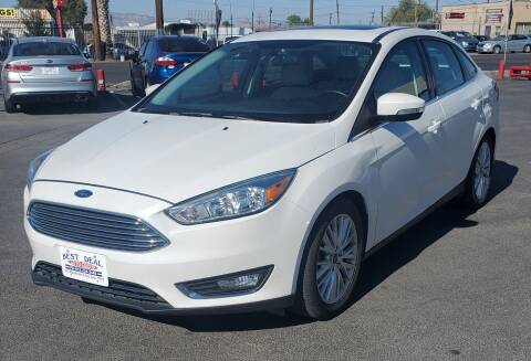 2018 Ford Focus for sale at Best Deal Auto Group, INC - Lot  A-6915 in El Paso TX