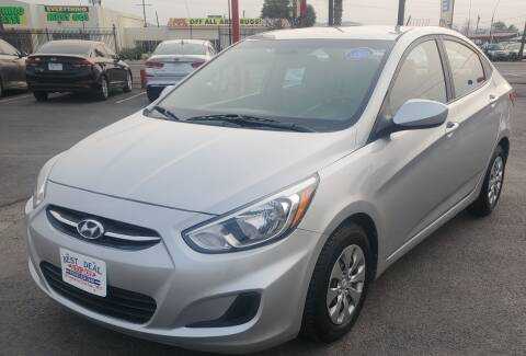 2017 Hyundai Accent for sale at Best Deal Auto Group, INC - Lot  A-6915 in El Paso TX
