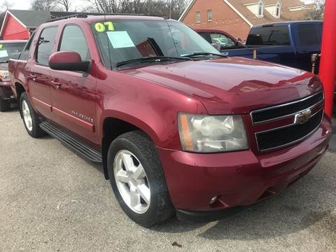 2007 Chevrolet Avalanche LTZ 1500 for sale at 5 STAR MOTORS 1 & 2 in Louisville KY