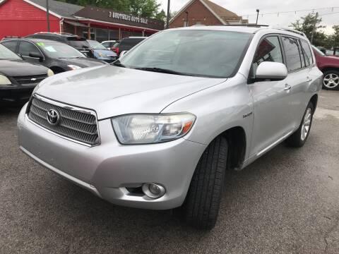 2008 Toyota Highlander Hybrid Limited for sale at 5 STAR MOTORS 1 & 2 in Louisville KY